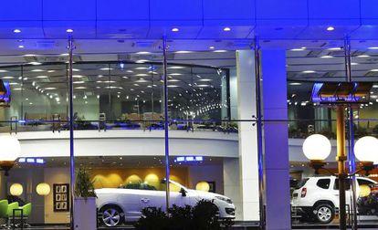 Un concesionario de coches de Renault, una de las 21 empresas multadas