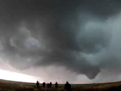 Así se ha formado un tornado en Tulia, Texas.