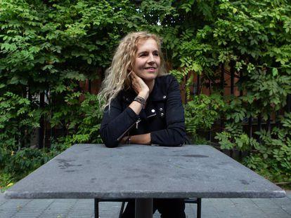 La escritora francesa Delphine de Vigan.