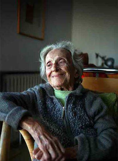 Matilde Horne, en la residencia de ancianos de Ibiza donde vive desde hace tres años.