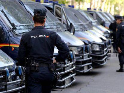 Imagen de archivo de la policía. En vídeo, declaraciones de la portavoz de la Policía Nacional, María Buyo.