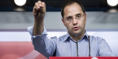 César Luena, en una imagen reciente.