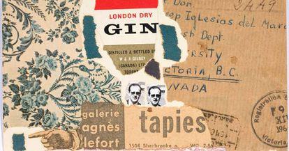 'Postales norteamericanas a una chica de Barcelona, de Iglésias del Marquet (1964-66).