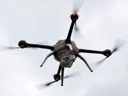 Un dron de vigilancia (imagen de archivo)