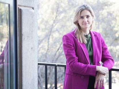 La secretaria de Estado de Energía, Sara Aagesen, en una imagen facilitada por el Ministerio de Transición Ecológica.