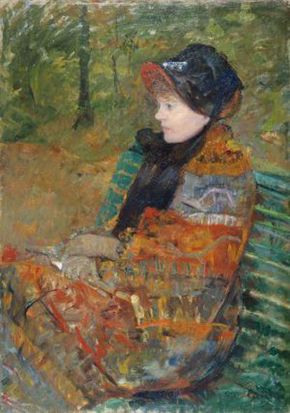 'Otoño', 1880, de Mary Cassatt.