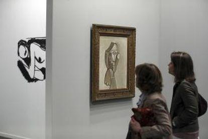 'Retrato de Jacqueline', de Picasso, a la venta por 6,2 millones de euros.