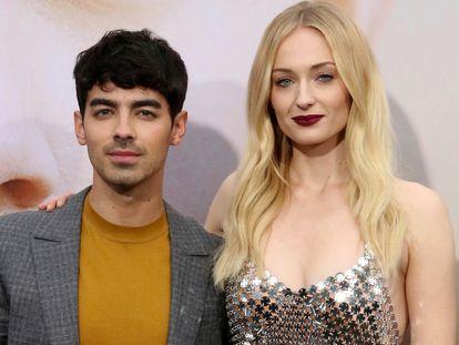 Joe Jonas y Sophie Turner, en un estreno en Los Ángeles en junio de 2019.