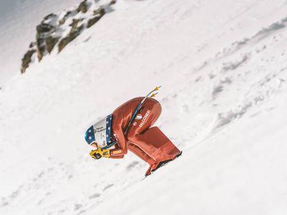 Valentina Greggio, la mujer más veloz del mundo sobre esquís.