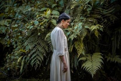 La actriz y bailarina costarricense Wendy Chinchilla, protagonista de 'Clara Sola', en una imagen del filme.