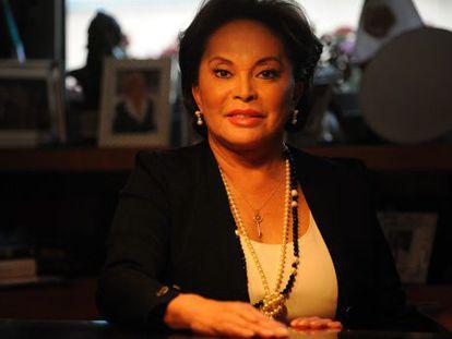 Elba Esther Gordillo, en marzo de 2012.