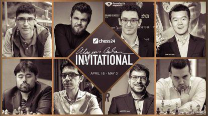 Cartel anunciador del torneo