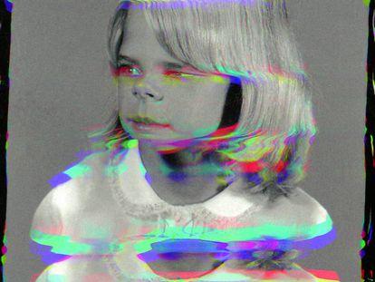 Girl From Contact Sheet (Darkroom Manual), 2013