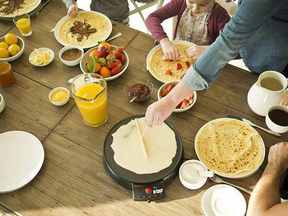Prepara en casa las mejores crepes y tortitas con cualquiera de estas cuatro creperas eléctricas.