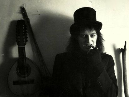 Martin Newell, en 1985.