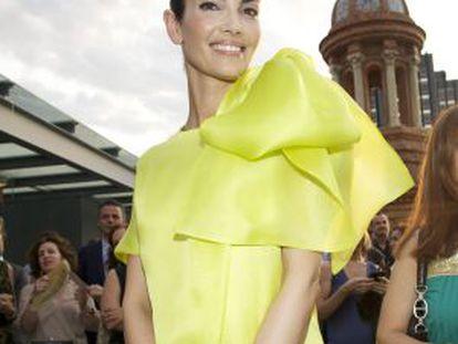 La modelo española Eugenia Silva.