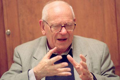 François Houtart, en 2004.