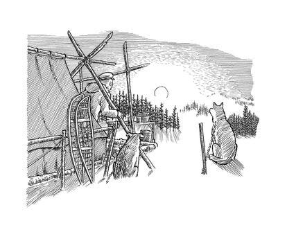 Viñeta de Joe Sacco incluida en su libro 'Un tributo a la tierra'.