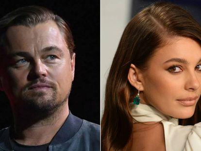 Leonardo DiCaprio y Camila Morrone.