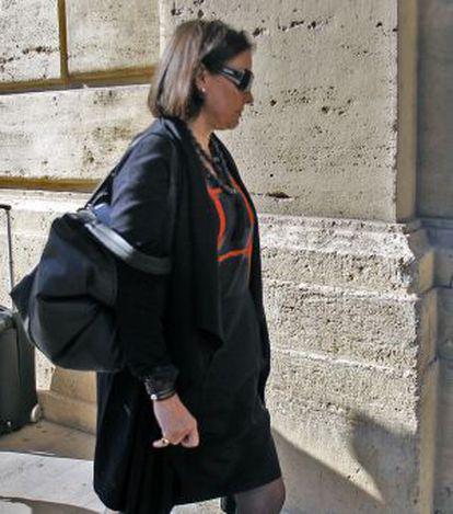 La exsubsecretaria de Presidencia de la Comunidad Valenciana, Isabel Villalonga.