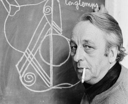 Louis Althusser (1918-1990), fotografiado en 1978 en París.