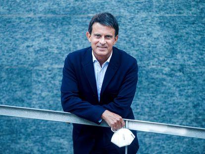 Manuel Valls, el pasado 14 de mayo en Barcelona.