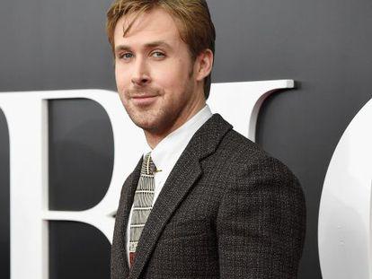 Ryan Gosling, en el estreno de La gran apuesta en Nueva York.
