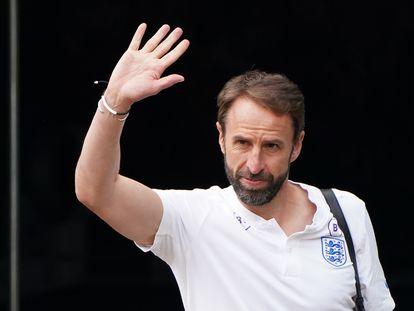 Gareth Southgate deja el hotel de concentración este lunes.