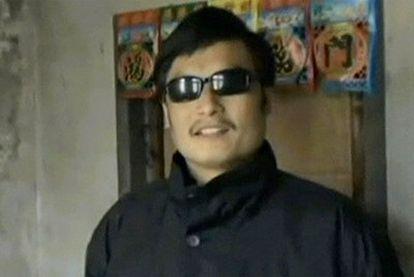Chen Guangcheng, en un momento del vídeo