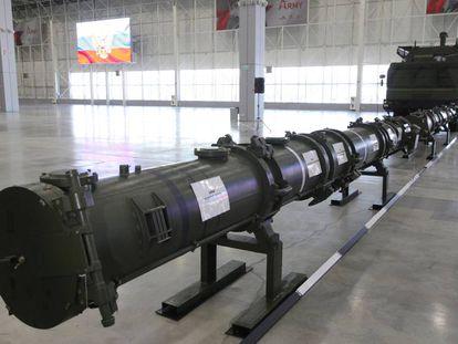 Misil 9M729, cerca de Moscú.