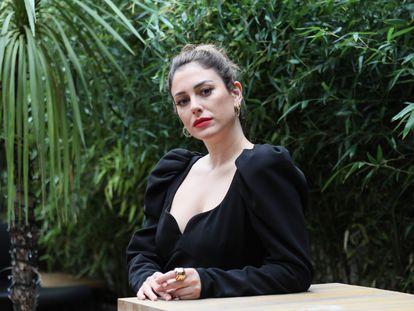 Blanca Suárez, el pasado jueves en Madrid.