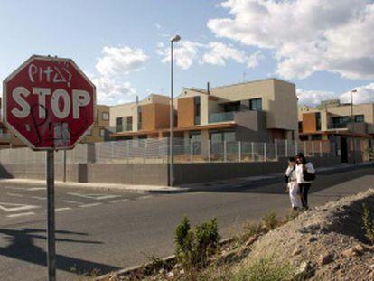 Una vista de la urbanización que investiga la Fiscalía de Almería.
