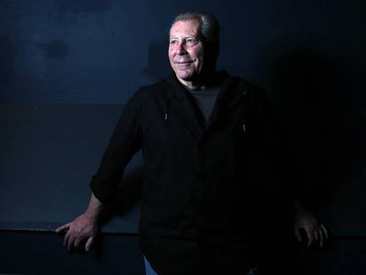 Mauricio Kartun, en el Teatro de la Abadía, de Madrid.