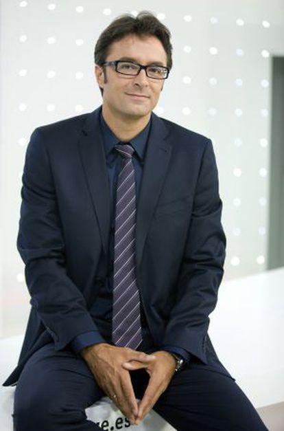 Marcos López, nuevo copresentador de la segunda edición del Telediario de TVE
