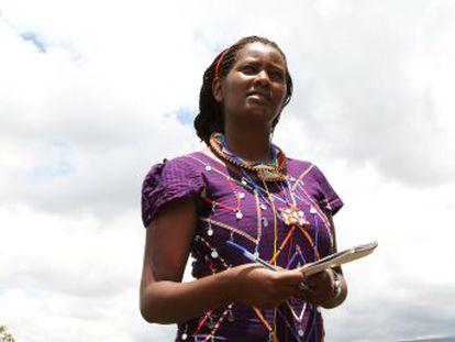 Nailantei Leng'ete es a sus 25 una veterana en la guerra contra la mutilación genital femenina que somete a las mujeres masai de Kenia