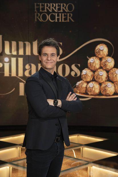 Christian Gálvez, en la presentación de las candidaturas a mejor pueblo anfitrión de España organizada por Ferrero Rocher el miércoles en Madrid.