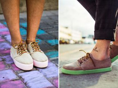 Cuatro estudiantes consiguen crear un calzado, las Pompeii, que triunfa por sus peculiares características