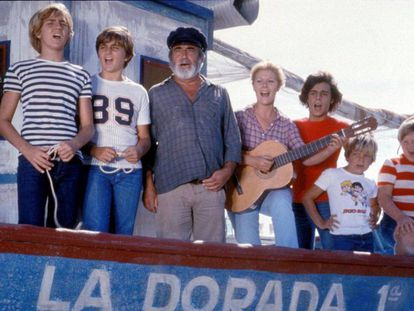 Fotograma de la serie Verano azul (1981-1982), dirigida por Antonio Mercero.