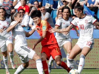 China se enfrenta a España en el Mundial de fútbol femenino