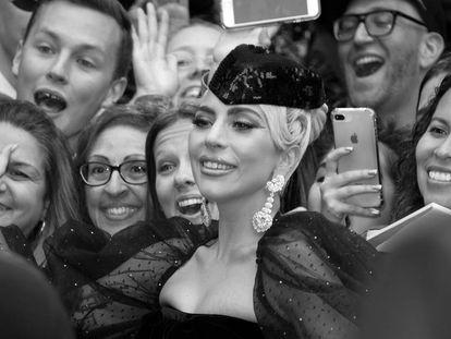 Lady Gaga, durante el estreno de 'Ha nacido una estrella' en el Festival de Cine de Toronto, el pasado septiembre.