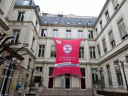 Sede del Partido Socialista francés en París