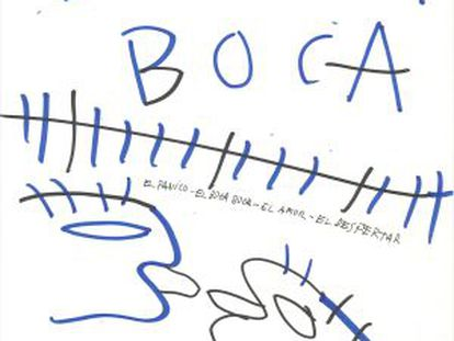 Lámina de 2009 de Bigas Luna sobre 'Segundo origen'.