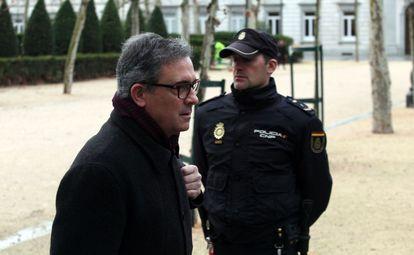 Jordi Pujol Ferrusola llega este jueves a la Audiencia Nacional.