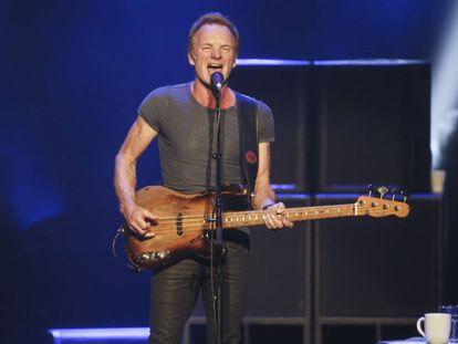 Concierto de Sting ayer en el Teatro Real..