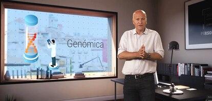 Stefanos Tsamusis, CEO de Roche España, durante las