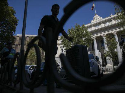 Sede de la Bolsa de Madrid.
