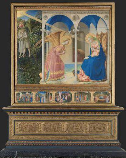 'La Anunciación' (1426), de Fra Angelico.