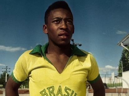 Un instante de 'Pelé'.