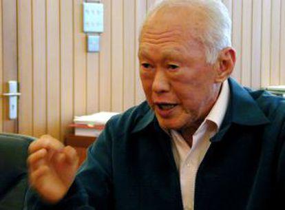 El fundador de Singapur, Lee Kuan Yew.