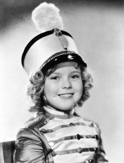 Shirley Temple, en la película 'Pobre niña rica' (1936).